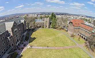 Pottstown, Pennsylvania - Aerial View of The Hill School.