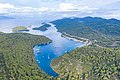 Aerial view of Polace Marina on Mljet island, Croatia (48608839531).jpg