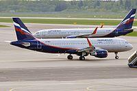 VP-BEO - A320 - Aeroflot