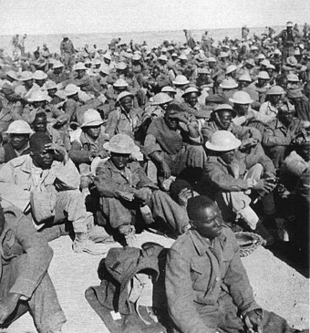 Commonwealth prisoners captured by Italian and German forces in 1941. Africa Settentrionale prigionieri del Commonwealth catturati nel novembre 1941 dall armata italo tedesca.jpg