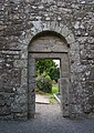 Aghowle Church Doorway Interior 2016 09 11.jpg
