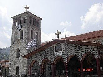 Agios Dimitrios, Pieria - The church of Agios Dimitrios in the village