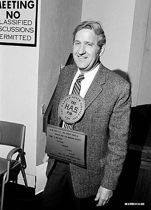 Harold Agnew - Harold Agnew receives his 30 years of service award in 1974