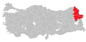 Ağrı Subregion - Image: Agri Subregion