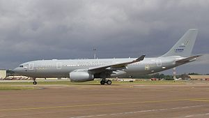 AirTanker Services - An AirTanker Airbus Voyager