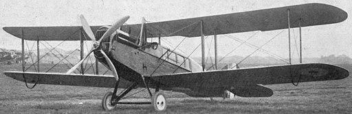 Airco DH.16 L'Aéronautique October 1919 (tight crop)