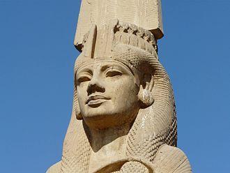 Meritamen - Statue of Meritamen