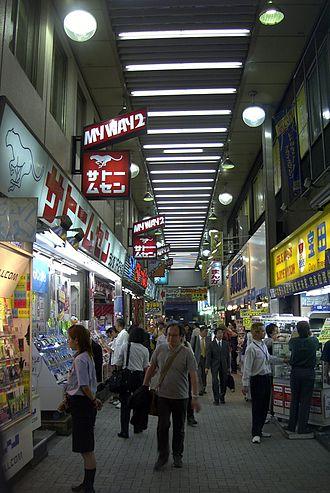 Akihabara - Between stores in Akihabara