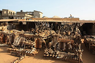 West African Vodun - Booth at Akodessawa Fetish Market 2008