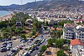 Alanya. View to the city from cabin of Cable car.jpg