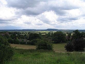 Alberbury - Image: Alberbury and Nesscliffe geograph.org.uk 489665