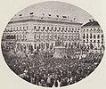 Albert, Joseph - München, Odeonsplatz – Feier am Denkmal König Ludwigs I. (Zeno Fotografie).jpg