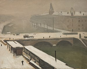 Winter by the Seine