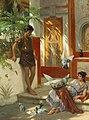 Albert Tschautsch - A scene in ancient Rome.jpg