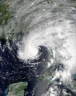 Tropical Storm Alberto (2018) The first named tropical weather system of the 2018 hurricane season