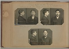 Album of Paris Crime Scenes - Attributed to Alphonse Bertillon. DP263815.jpg