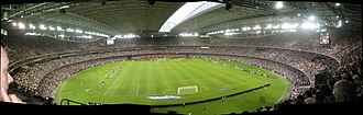 Melbourne Victory FC - 2007 A-League Grand Final at Telstra Dome (now Marvel Stadium)