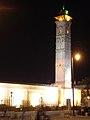 Aleppo (Halab), Abendlicher Blick auf das Minarett der Omayadenmoschee, 11. Jhdt. (37819080755).jpg