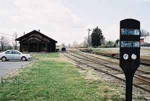 Alexander Railroad - Alexander Railroad headquarters located Taylorsville, NC.