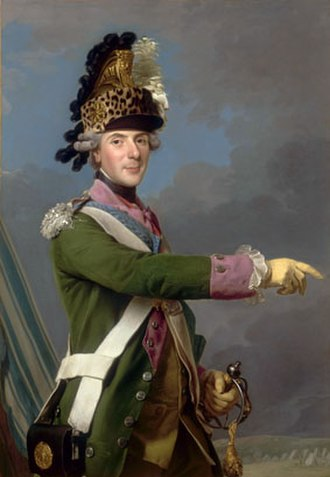 Colonel General (France) - Image: Alexandre Roslin, Louis de France, dauphin (1765) 002