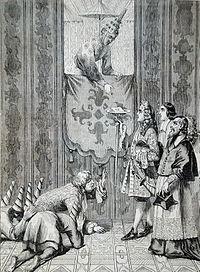 Alexandre de Chaumont, audience solennelle, Siam, 18 octobre 1685..JPG