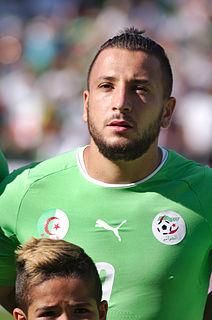 Nabil Ghilas Algerian footballer