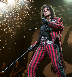 Alice Cooper in concerto a San Antonio (Texas, 2015)