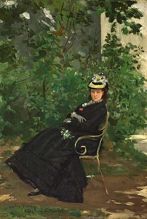 Alice Hoschedé - Carolus-Duran, Alice Hoschedé, second wife of Claude Monet and mother of Blanche Hoschedé Monet, 1878
