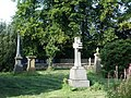 All Saints Church, Clayton-le-Moors, Graveyard - geograph.org.uk - 677046.jpg
