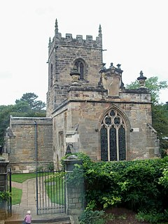 Kedleston village and civil parish in Amber Valley district, Derbyshire, England