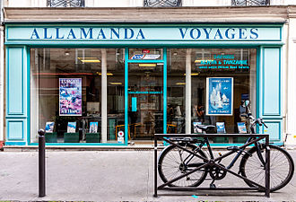 Travel agency - Allamanda Voyages travel agents in Paris