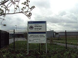 Allerton Grange School Comprehensive school in Leeds, West Yorkshire, England