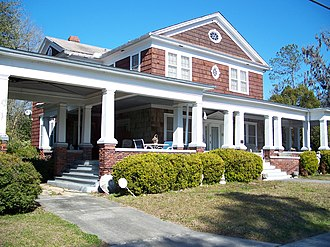 National Register of Historic Places listings in Suwannee County, Florida - Image: Allison House Live Oak 01