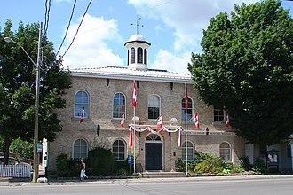 Alnwick/Haldimand - Township hall in Grafton