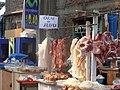 Alpaca, su carne a la venta en el mercado - panoramio.jpg