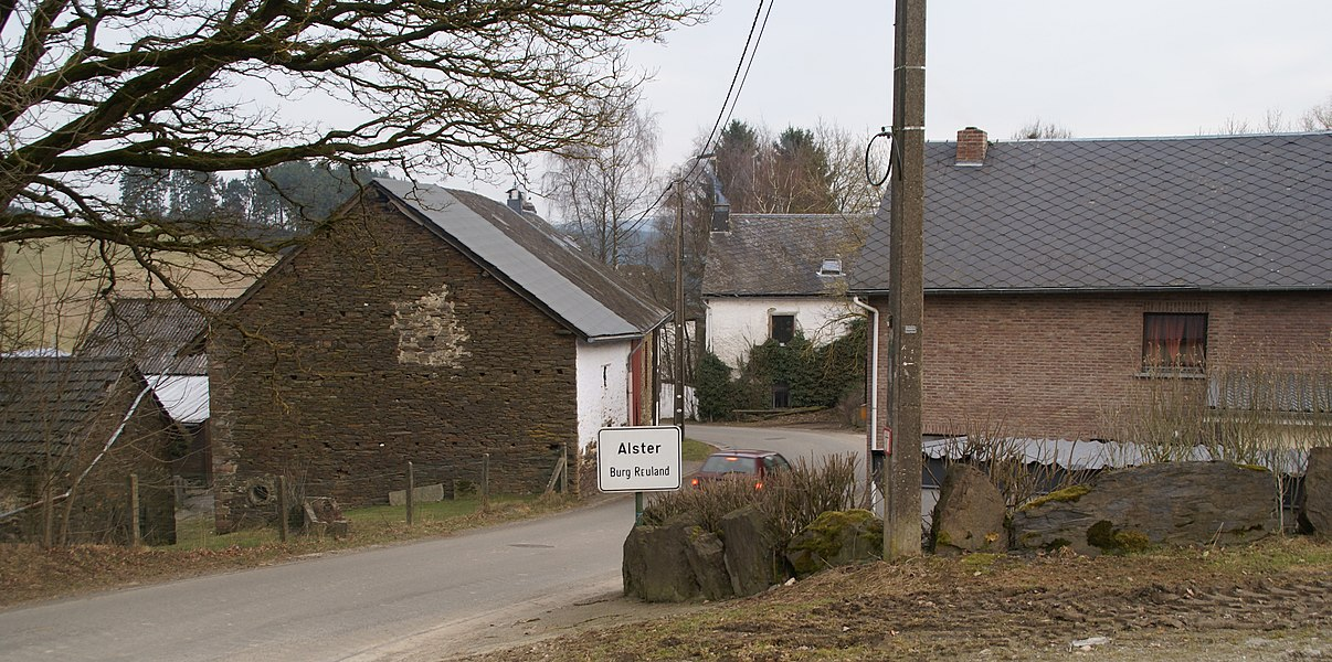 Alster (Burg-Reuland) (Belgium): Panaroama