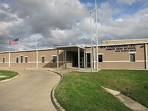 Altair, Texas - Image: Altair TX Rice Junior High