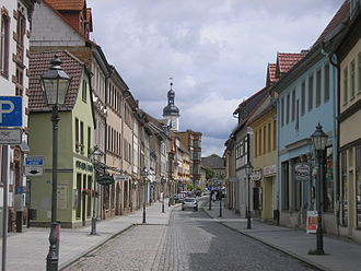 Eisenberg, Thuringia - Image: Altstadt Eisenberg