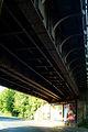 Am Schafbrinke Hannover Waldheim Eisenbahnbrücke genietete Stahlträger.jpg