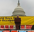 Ambassador Edward Peck speaks at End the Israeli Occupation of Palestine rally in 2007.jpg