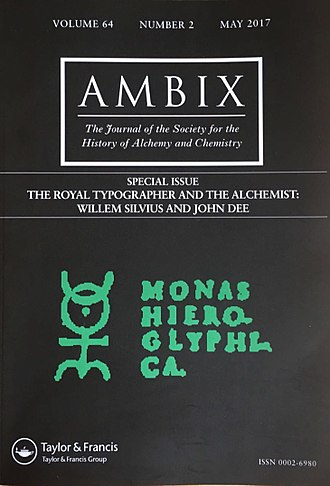 Society for the History of Alchemy and Chemistry - Image: Ambix The Royal Typographer