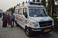 Ambulance - Force Motors - Traveller - Kolkata 2015-02-06 5788.JPG