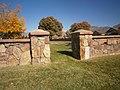 American Fork Utah Cemetery rock wall.jpeg