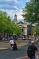 Amsterdam - Blauwbrug - View NW towards Mozes & Aäronkerk.jpg