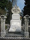 Begraafplaats Zorgvlied: grafmonument van Elisabeth Otter-Knoll