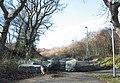 An anti-traveller barricade at Glynrhonwy - geograph.org.uk - 332334.jpg