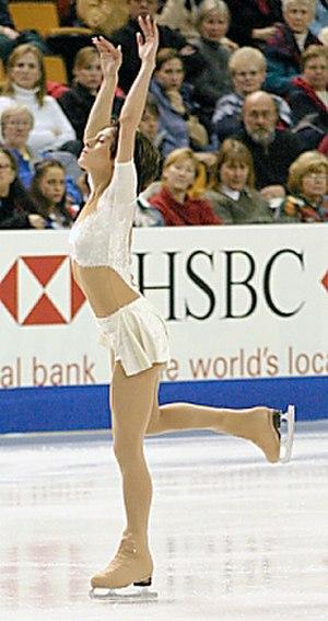 Anastasia Gimazetdinova - Gimazetdinova at the 2004 Four Continents Championships
