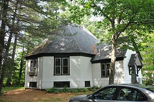 National Register of Historic Places listings in Oxford County, Maine - Image: Andover ME Library