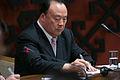 Andrejs Klementjevs tiekas ar Ķīnas Nacionālās komitejas priekšsēdētāja vietnieku Bai Ličenu (8287670941).jpg