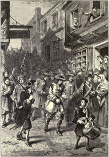 1689 Boston revolt April 1689 revolt in Boston